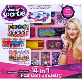 Crazart Shimmer N Sparkle 4 In 1 Fashion Jewelry Online in UAE