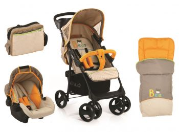 Hauck Shopper SLX with Sleeping Bag and Mamma Bag Bear Online in UAE