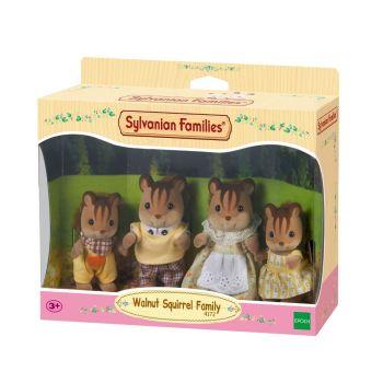 Sylvanian Families Walnut Squirrel Family 4172