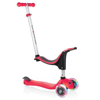 Globber Evo 4 in 1 Scooter with Lights RedOnline in UAE