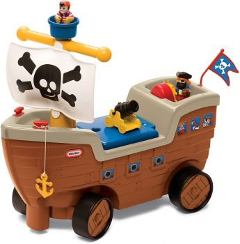 Little Tikes Play 'n Scoot Pirate Ship LIT-622113