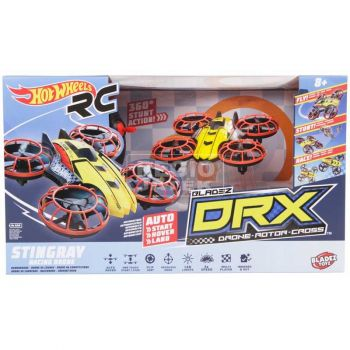 Hot Wheels RC Cage Fighter Drone Rotor Cross DRX BTHW-C01