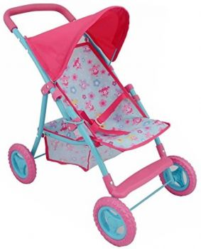 Dolls World Dolls Stroller with Canopy 8185