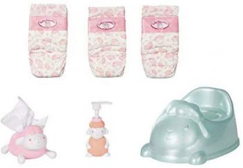 Baby Annabell Baby Care Potty & Nappies 6pcs ZPF-703298