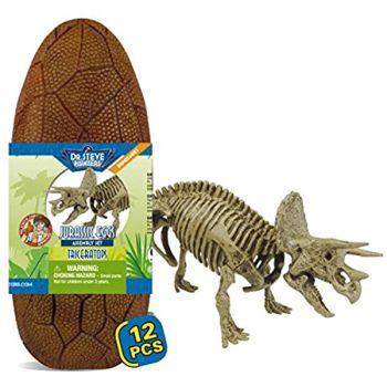 Dr Steve Hunters Jurassic Eggs Triceratops Assembly Set 91059