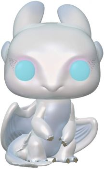 Funko Pop Movies How to Train Your Dragon 3 Light Fury Action Figure FU36369