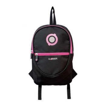 Globber Junior Backpack Black Neon Pink Online in UAE