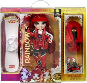 Rainbow High Winter Break Ruby Anderson Fashion Doll MGA-574286