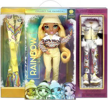 Rainbow High Winter Break Sunny Madison Fashion Doll MGA-574774