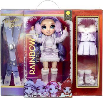Rainbow High Winter Break Violet Willow Fashion Doll MGA-574804
