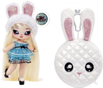 Na! Na! Na! Surprise 2-in-1 Pom Glam Alice Hops with Metallic Purse MGA-575139