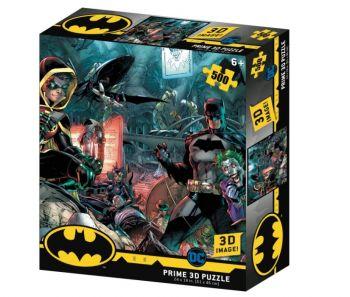 Prime 3D Batman and Robin 500pcs Puzzle 32573