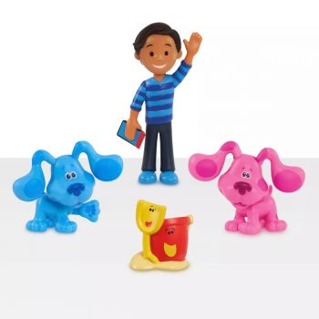 Blue's Clues & You! Collectible Figure Set 4pc 49715