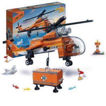 BanBao Duncans Treasure Helicopter 261 Pieces
