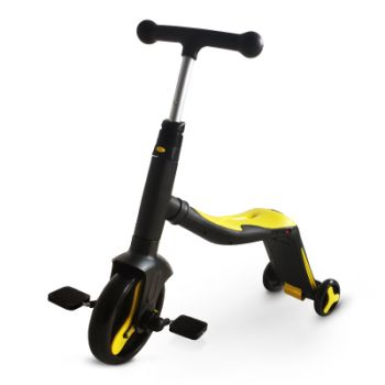 3 in 1 Childrens Scooter Yellow 868S