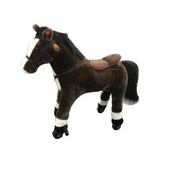 Riding Horse Brown LB-J001 Plus Online in UAE