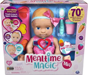Luvabella Mealtime Magic Mia Doll with Accessories 6056264