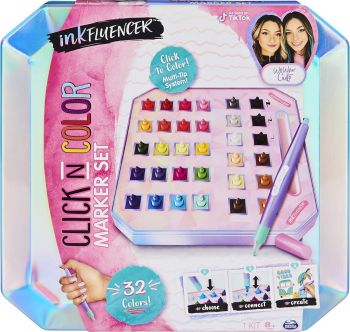 Cool Maker Inkfluencer Click 'n Color Marker Set 6063603