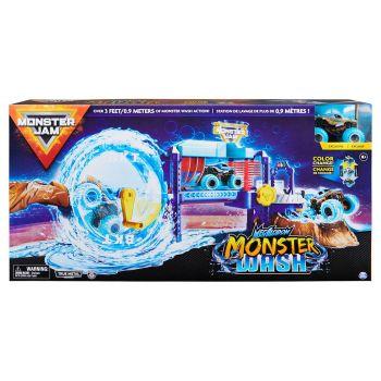 Monster Jam 1:64 Car Wash Playset 6060518