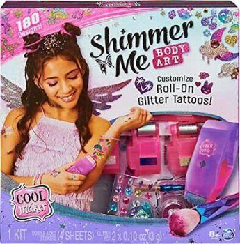 Cool Maker Shimmer Me Body Art - 6061176