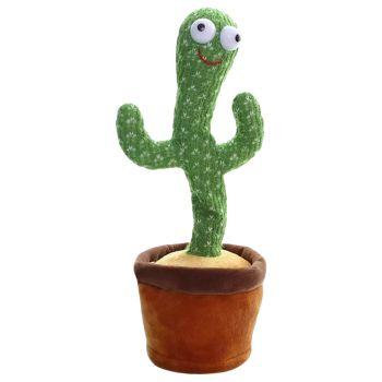 Essen Dancing Singing Talking Cactus Plush Toy 6090