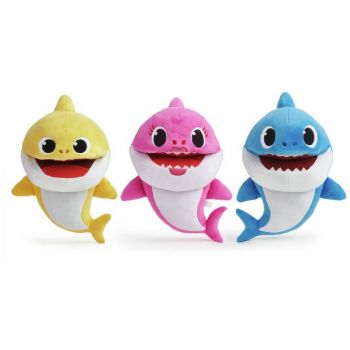 Baby Shark Singing Puppet with Tempo Control Assorted