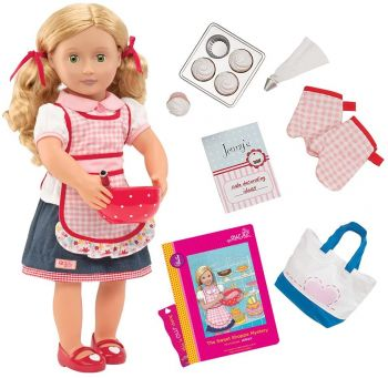Our Generation Jenny-Deluxe Doll with Book BD31173ATZ
