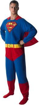 Superman Adult Onesie 880332-S
