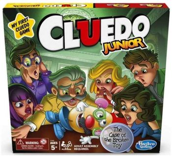 Cluedo Junior Board Game C1293