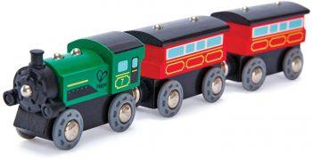 Hape Steam-Era Passenger Train E3719