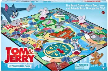 Tom & Jerry City Race Board Game Online in UAE