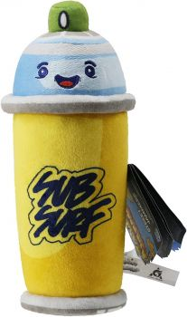 Subway Surfers Spray Can Plush Street Jammers 650502