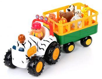 Kiddieland Safari Wagon with Animal Trailer Online in UAE
