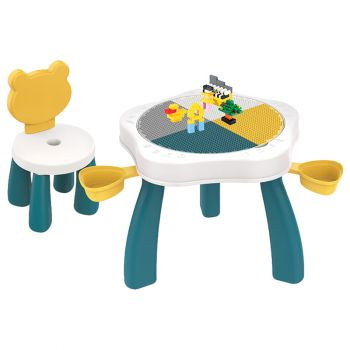 Multifunctional Toy Block Table 669-78