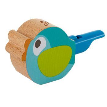 Hape Turquoise Bird-Call Whistle E0472 Online in UAE