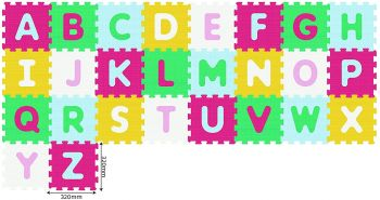 Sunta Antibacterial Alphabet Puzzle Mat 26pcs 911983
