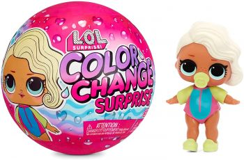 LOL Surprise! Color Change Dolls with 7 surprises MGA-576341