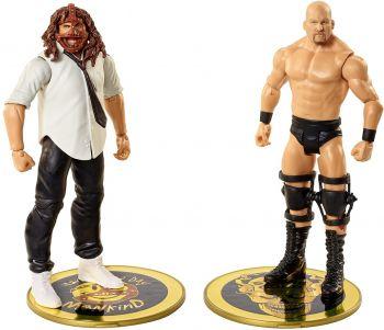 WWE Basic Battle Packs: Stone Cold Steve Austin vs. Mankind GDF63