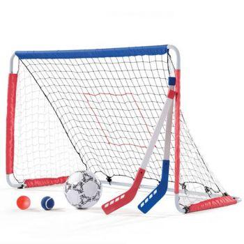 Shop Step2 Kickback Soccer Goal & Pitch Back