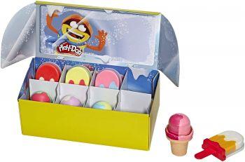 Play Doh Ice Pops n Cones Freezer Play Set E6642