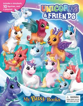 Unicorns & Friends My Busy Book 276434919X