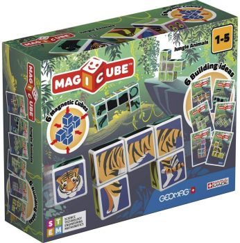 Geomag Magicube Jungle Animals 00145