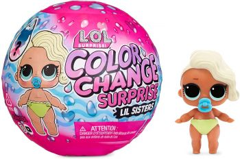 LOL Surprise! Color Change Surprise Lil Sisters Mystery Pack MGA-576327