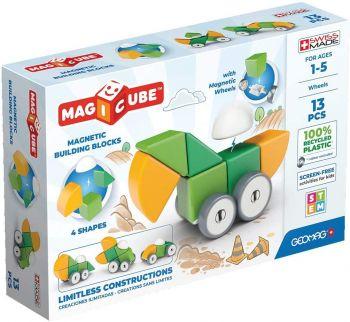 Geomag Magicube 4 Shapes Wheels 13pcs 00202