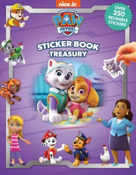 Nick Paw Patrol Girls Sticker Book Treasury 2764349076