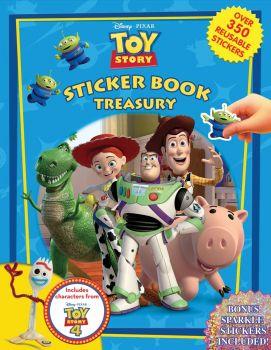 Disney Pixar Toy Story4 Sticker Book Treasury 2764348878