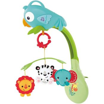 Fisher Price Rainforest Friends 3-in-1 Musical Mobile CHR11