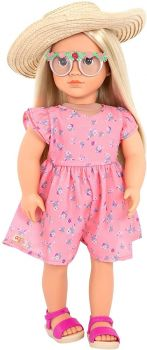 Our Generation Dahlia Floral Printed Dress/Sunhat - Toys BD31310Z