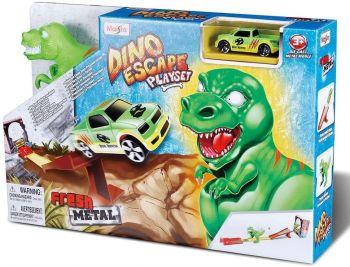 Maisto Fresh Metal Dino Escape Kids Car Track 11063