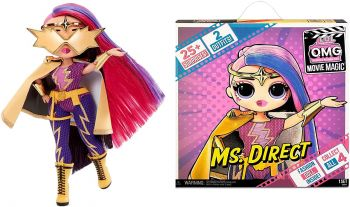 LOL Surprise! OMG Movie Magic Ms. Direct Fashion Doll MGA-577904